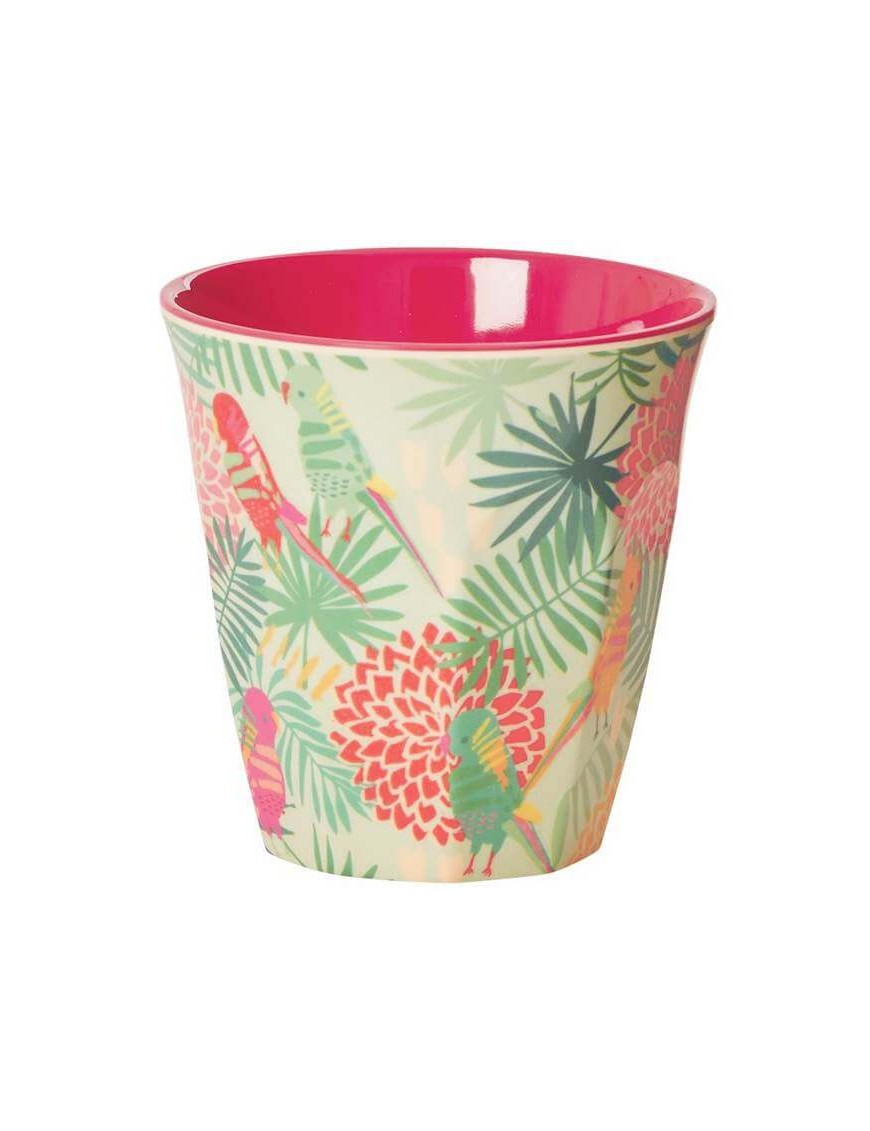 Rice - melamine cup: Tropical (medium)