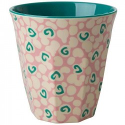 Rice - melamine cup: liquid spots (medium)