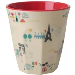 Rice - melamine cup: Paris (medium)