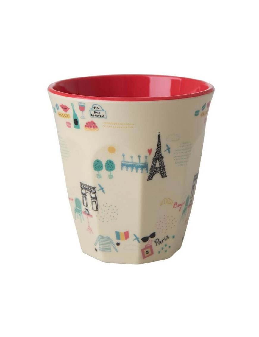 Rice - melamine cup: Paris (medium)