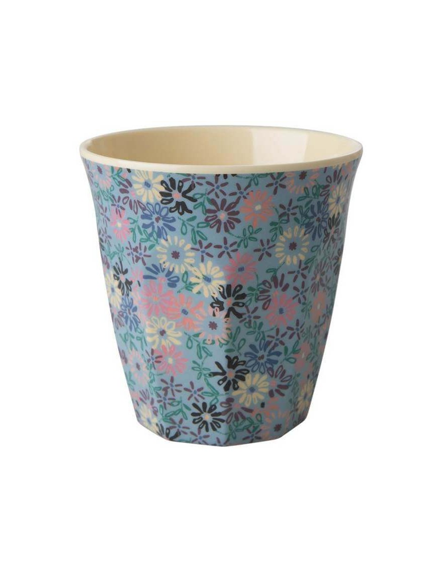 Rice - melamine cup: Small Flower (medium)