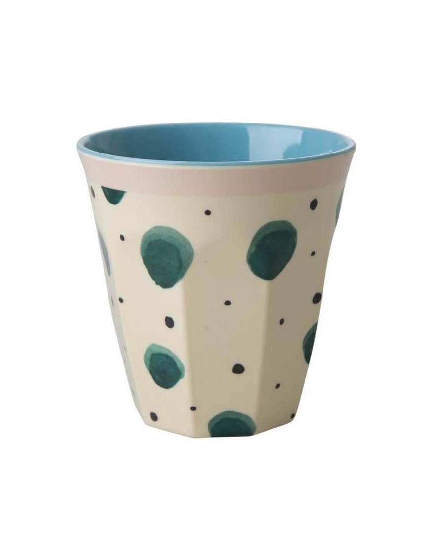 Rice - verre mélamine: Watercolor Splash (medium)