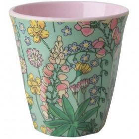 Rice - melamine cup: Lupin (medium)