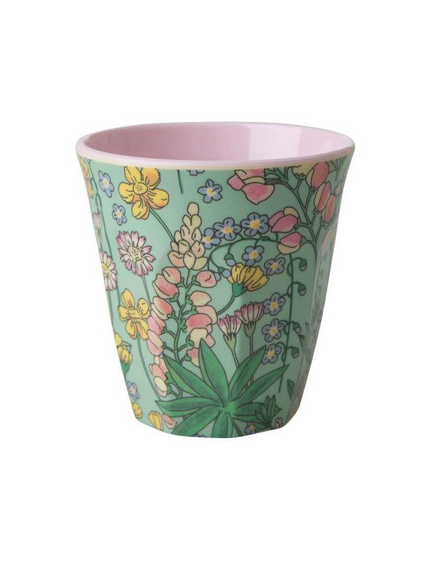 Rice - melamine cup: Lupin (medium)