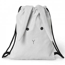 Liewood - gym bag: rabbit - dumbo grey