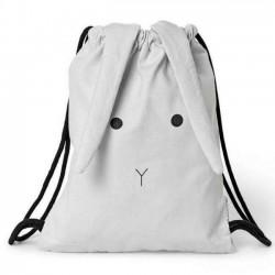 Liewood - gym bag: rabbit - dumbo grey
