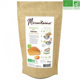 organic baking mix - orange cake