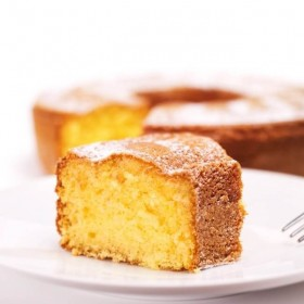 organic baking mix - lemon cake