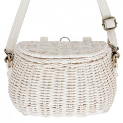 Olli Ella - mini chari bag : white