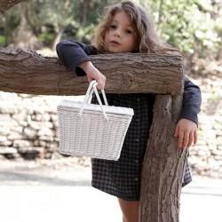 """Olli Ella - kids basket """"Piki"""" natural"""
