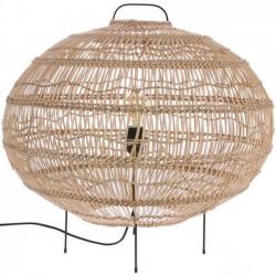 """lampe ovale en osier """"Wicker"""" HK Living"""