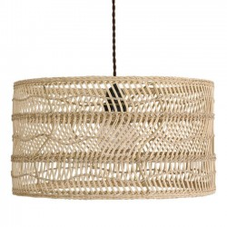 "HK Living - lampe suspension osier ""Wicker"""