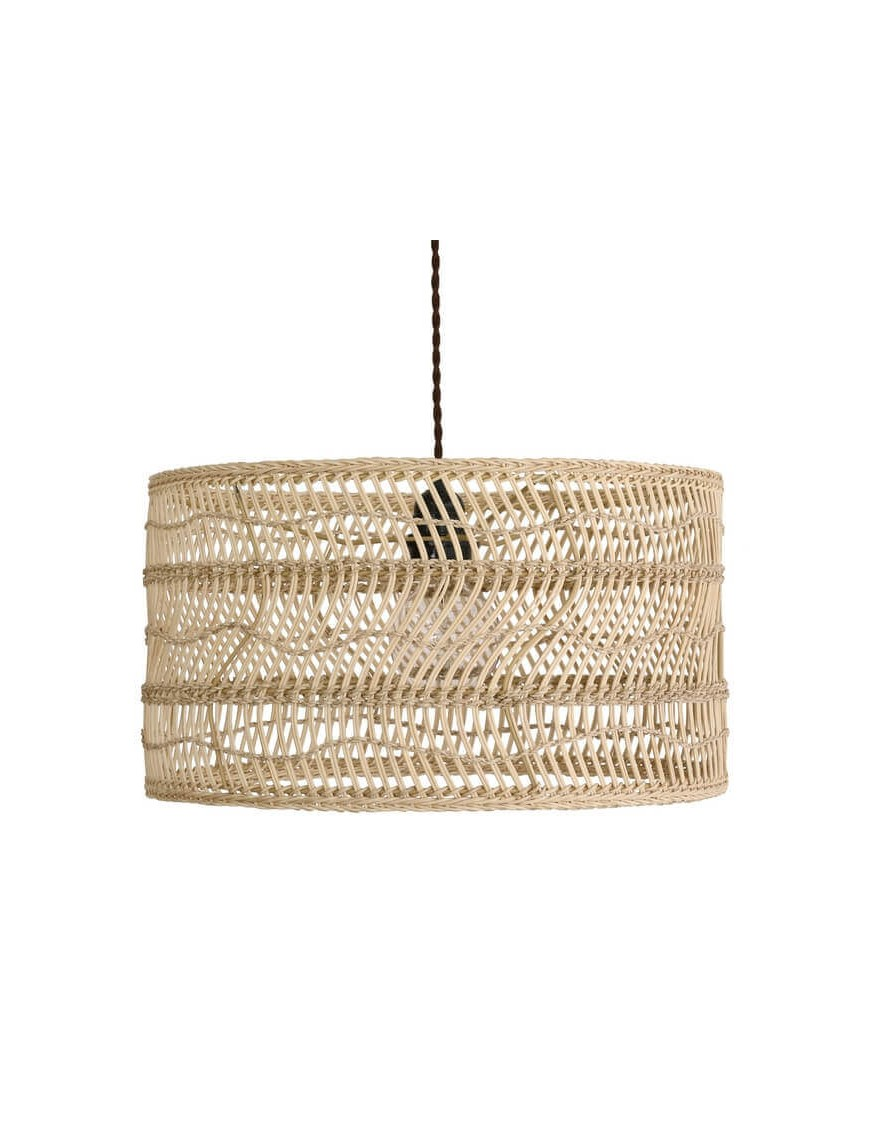 "Suspension en osier ""Wicker"" HK Living"