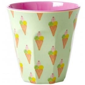 Rice - verre mélamine: Ice Cream(medium)