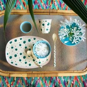 RICE melamine tea spoon 'Boogie' print