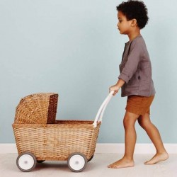 Olli Ella stroller - natural pram toy