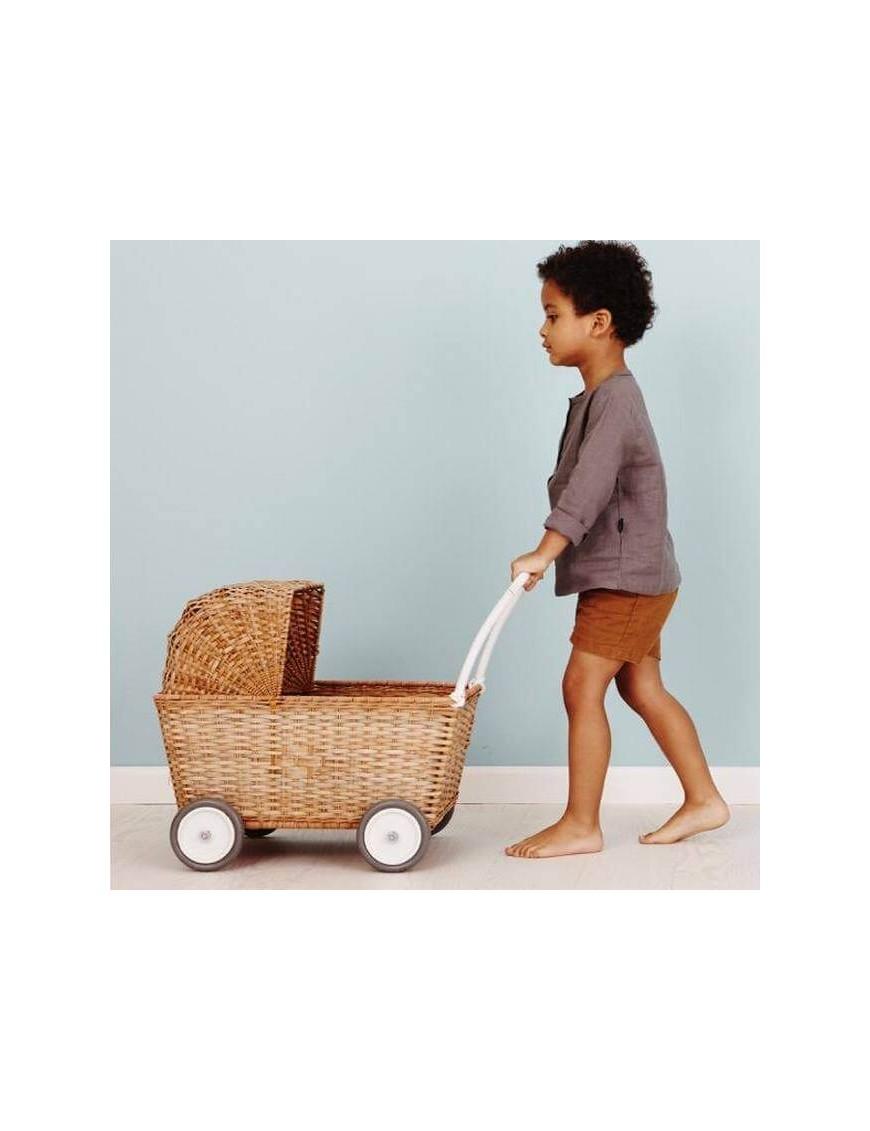 Olli Ella stroller - natural pram toy