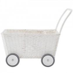 Chariot / landau blanc Olli Ella