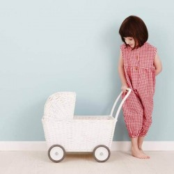 Olli Ella strolley - white pram toy