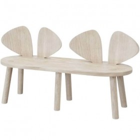 """Nofred - bench """"mouse"""": oak"""