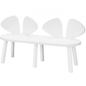 """Nofred - bench """"mouse"""": white"""