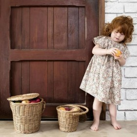 "Olli Ella - basket ""little apple"""