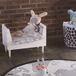 lit de poupée design: rose - Oyoy