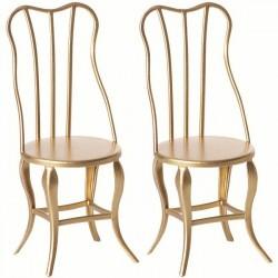 Maileg - vintage chair micro (x2)