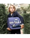 "Jeune Premier - primary school bag : it bag midi bag ""captain"""