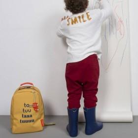 "Sticky Lemon - sac à dos maternelle ""Taa tuu ta tu"" Mister Gorilla"