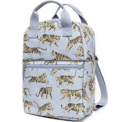 """Petit Monkey sac à dos gris """"tigre"""""""