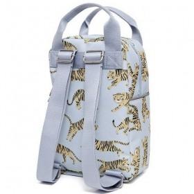 Petit Monkey - sac à dos gris tigre