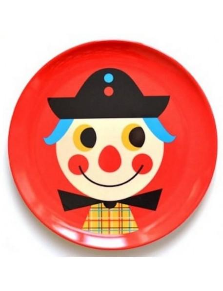 Ingela P. Arrhenius - melamine plate : clown