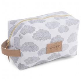 MOUMOUT - toiletry bag : clouds (large)