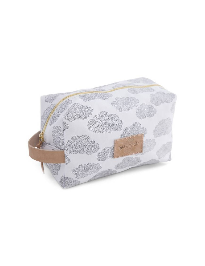 MOUMOUT - toiletry bag : clouds (large)