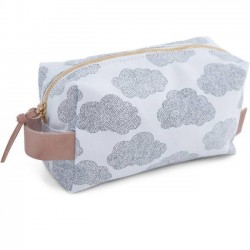 "Moumout - trousse Janjan ""clouds"" (small)"