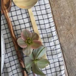 Linen tablecloth Jenn FOG LINEN - 130 x 130 cm