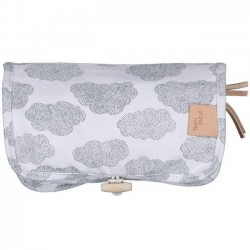 "MOUMOUT school pencil case : clouds ""DUO"""