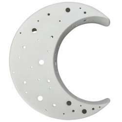 Byon - wall lamp moon (grey porcelain)