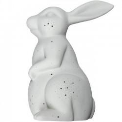 Byon - wall lamp rabbit (grey porcelain)