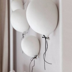 Byon - balloon wall decoration white (large)