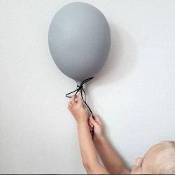 Byon - balloon wall decoration grey (large)