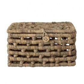Bloomingville - basket with lid - water hyacinth