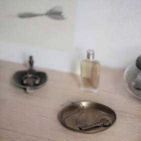 Brass plate (Ø8.5cm) - FOG LINEN WORK