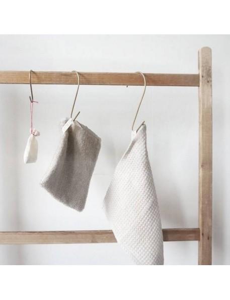 """crochet en laiton forme """"S"""" (small) - FOG LINEN WORK"""