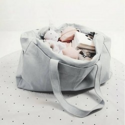 "Liewood - sac à langer ""Dumbo grey"" + couverture: Mommy bag"