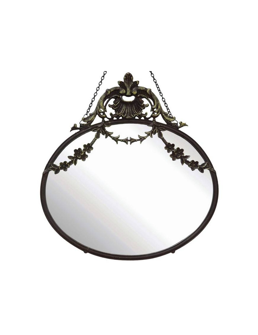 "Bloomingville - miroir ovale collection "" Château"""