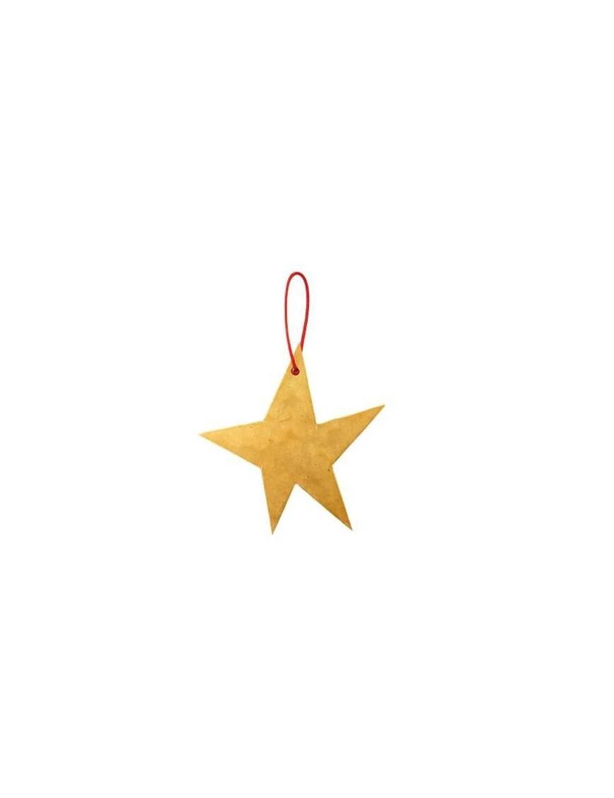 étoile en laiton à suspendre - FOG LINEN WORK