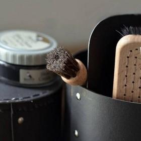 shoe care box - Iris Hantverk