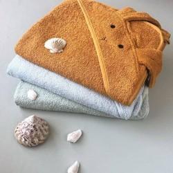 "Liewood - hooded towel ""Augusta"", rabbit mustard"